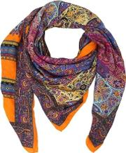 Bombay Printed Twill Scarf