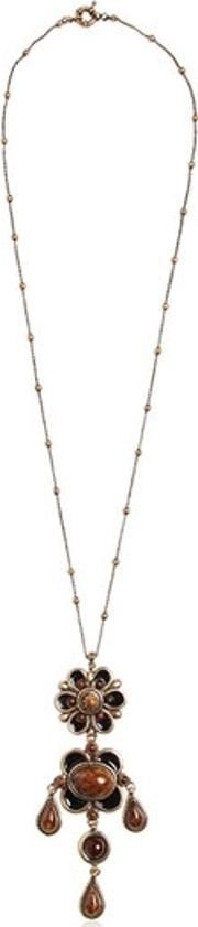 Flower Pendent Necklace