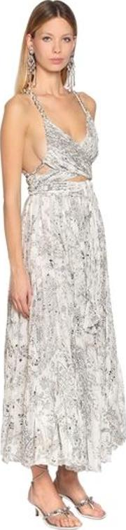 Printed Silk Double Georgette Dress