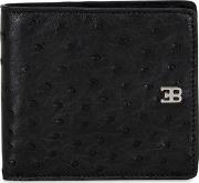 Eb Classic Ostrich Leather Wallet