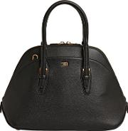 Small Lady Leather Top Handle Bag