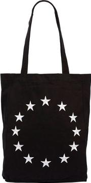 Europa Embroidered Cotton Tote Bag