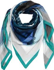 Cotton & Silk Printed Scarf