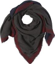 Double Wool Modal Scarf