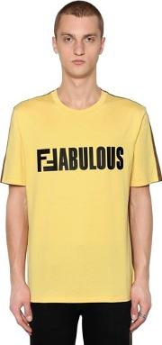 Two Tone Ffabulous Jersey T Shirt