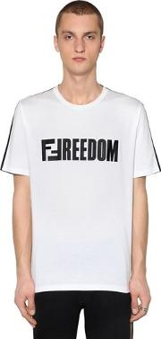 Two Tone Ffreedom Jersey T Shirt