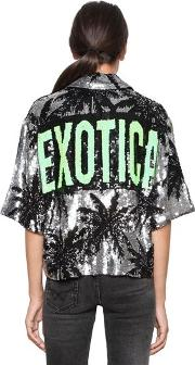 Exotica & Palms Sequined Jacket