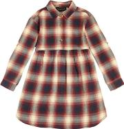 Plaid Cotton Flannel Dress