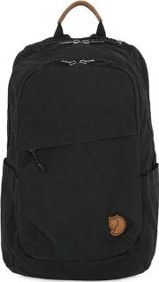 20l Raven Techno Canvas Backpack