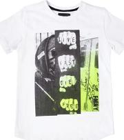 Live Fast Die Free Cotton Jersey T Shirt