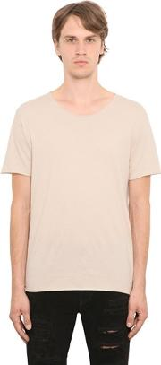 Essential Cotton Jersey T Shirt