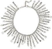Dripping Crystal Necklace