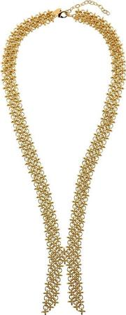 Gold Colored Collar Necklace