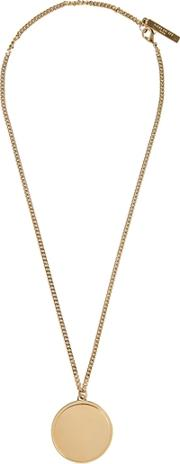 G Ometric Round Necklace