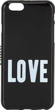 Love Printed Rubber Iphone 6 Case