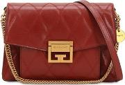 Small Gv3 Quilted Shoulder Bag