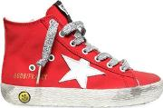 Francy Cotton Canvas High Top Sneakers
