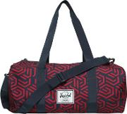 Printed Nylon Canvas Duffle Bag