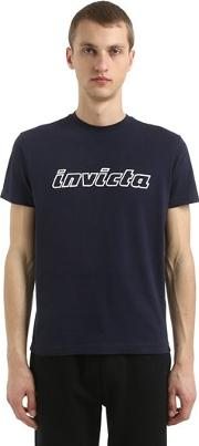 Logo Cotton Jersey T Shirt