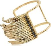 Gold Fringe Ring