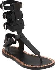 Jeepy Leather Gladiator Sandals