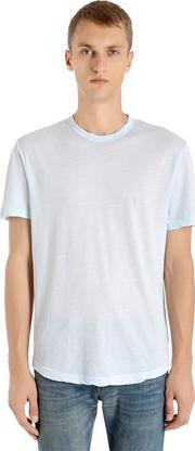 Lightweight Cotton Jersey T Shirt