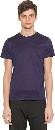 Mercerized Cotton T Shirt