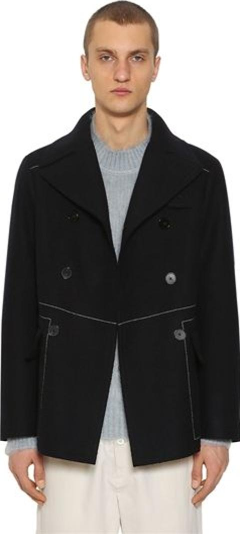 d1e28004a77 Shop Double Breasted Pea Coat for Men - Obsessory
