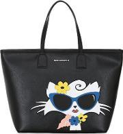 Choupette Beach Tote Bag