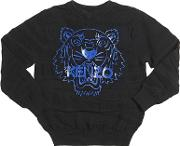 Tiger Knitted Cotton & Wool Sweater