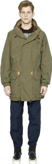 Cotton & Nylon Parka