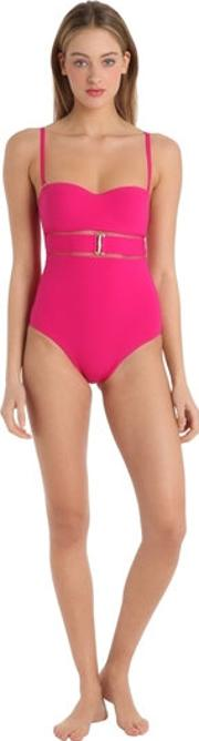 Lycra One Piece Swimsuit With Padding