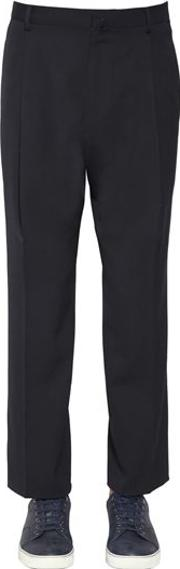 23cm Wool Twill Pants