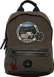 Backpack With Decorative Patches