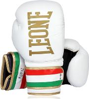 10oz Italy Printed Leather Boxing Gloves