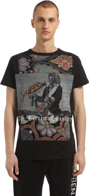 Samuel L. Jackson Printed Cotton T Shirt
