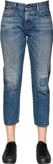 1967 Customized 505 Cotton Denim Jeans