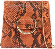 Tiny Box Python Shoulder Bag