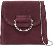 Tiny Box Suede Shoulder Bag
