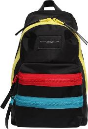 Nylon Canvas Backpack W Logo Patch