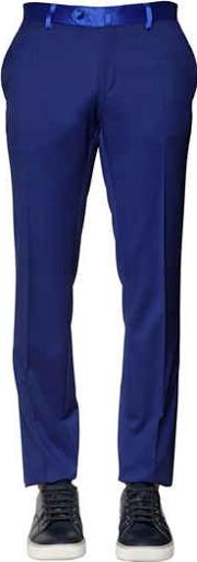 18 Cm Natural Stretch Cool Wool Pants