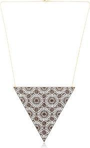 Alhambra Triangle Shaped Necklace Iii