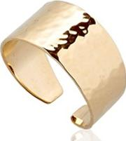Small Hammered Gold Ring