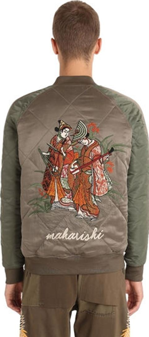 ff71c7f19 Shop Maharishi Bomber Jacket for Men - Obsessory