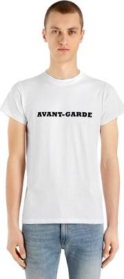 Avant Garde Heavy Cotton Jersey T Shirt