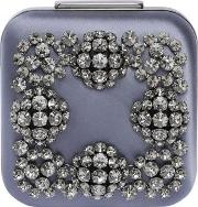 Hangi Swarovski Silk Satin Clutch