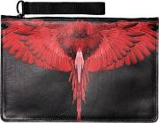 Choym Printed Faux Leather Pouch
