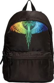 Rainbow Wing Canvas Backpack