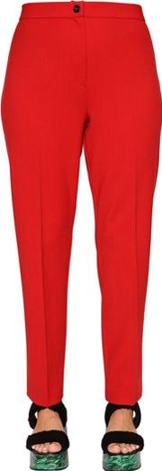 Stretch Virgin Wool Trousers