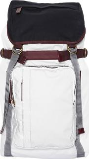 Coated Cotton Canvas Backpack